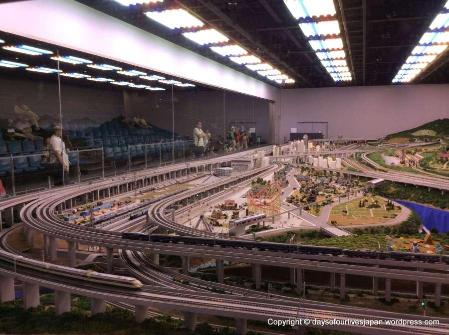 Model train city