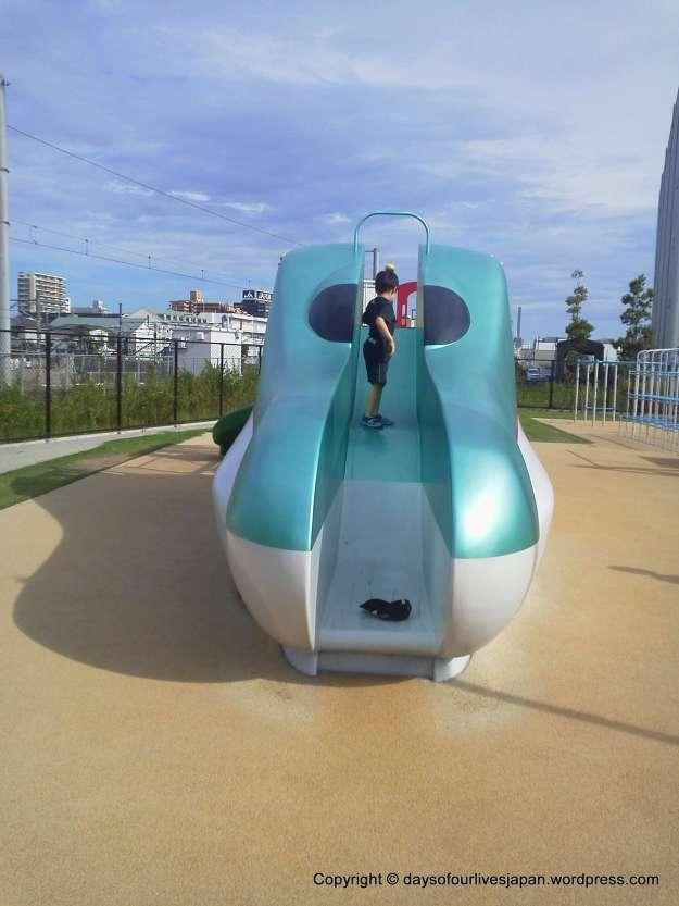 Shinkansen slide