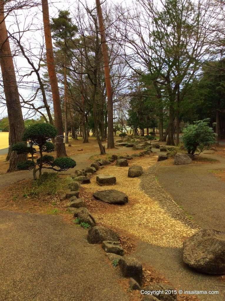 Hidaka Sougou Park water play wading stream area
