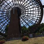 Japan's largest water mill at the Saitama Museum of rivers