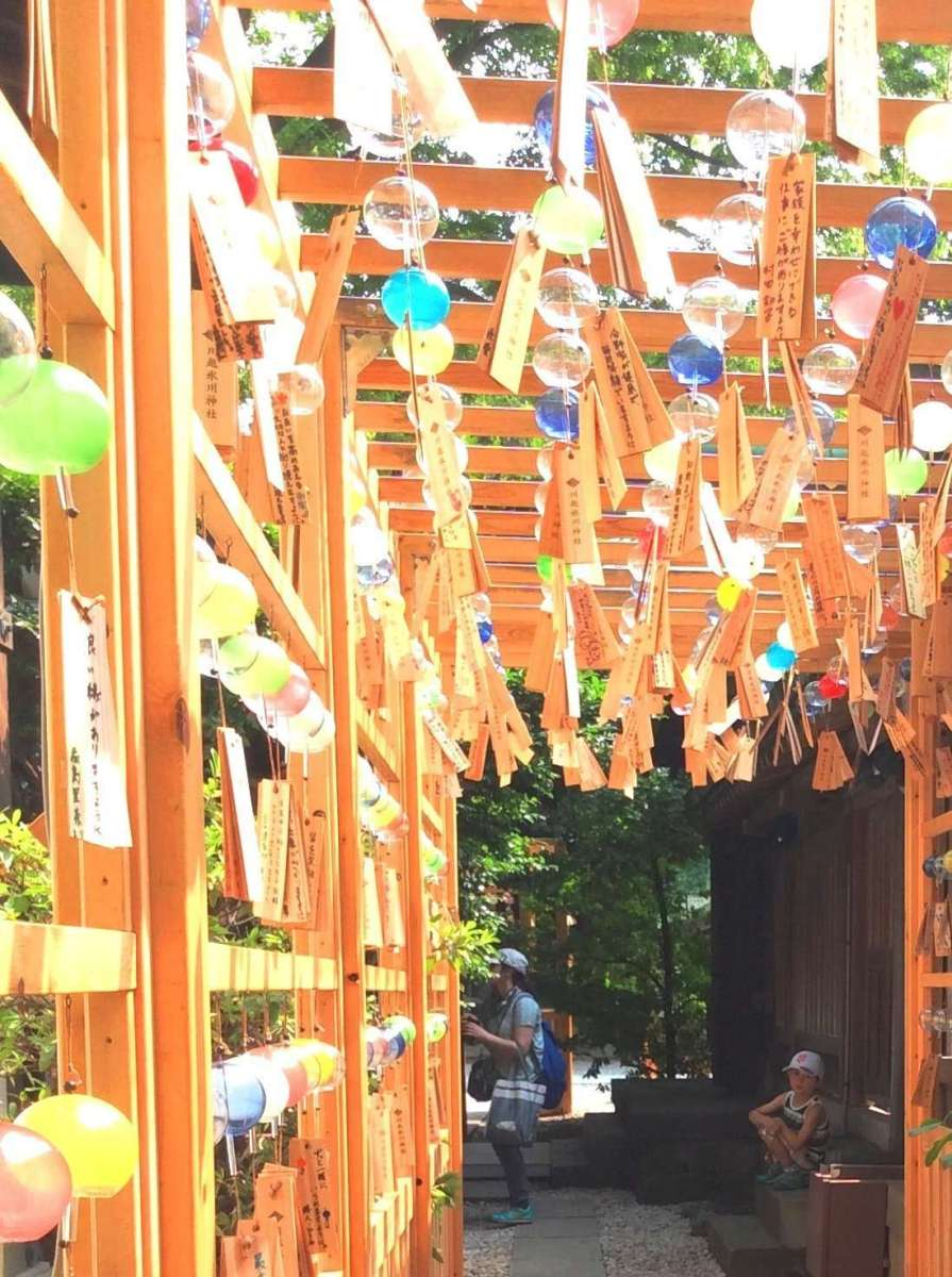 Wind Chimes event at Hikawa Shrine | KAWAGOE