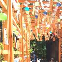 Wind Chimes event at Hikawa Shrine   KAWAGOE