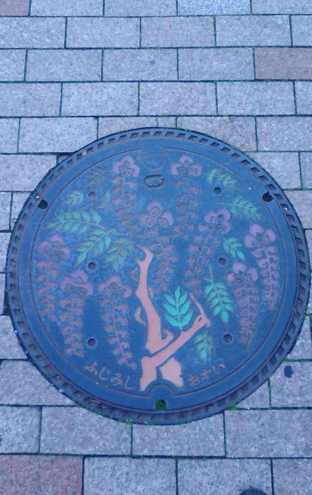 Fujimi city manhole