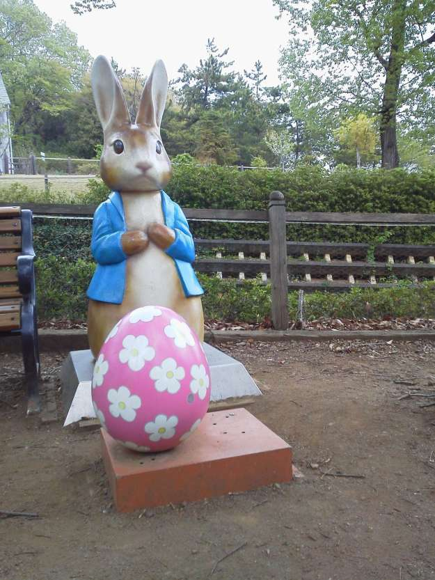 Easter in Saitama Peter Rabbit and Easter Egg