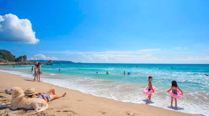Activity packed family beach day destination SHIMODA | SHIZUOKA