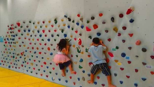 Free climbing fun for kids at Kitamoto Children's Centre | KITAMOTO