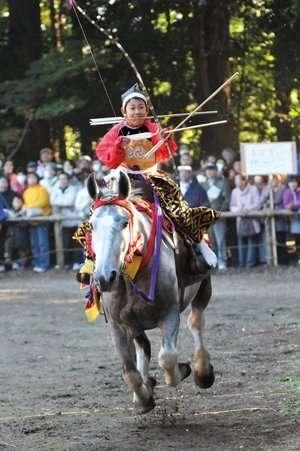 Autumn Yabusame (Horseback Archery) | MOROYAMA