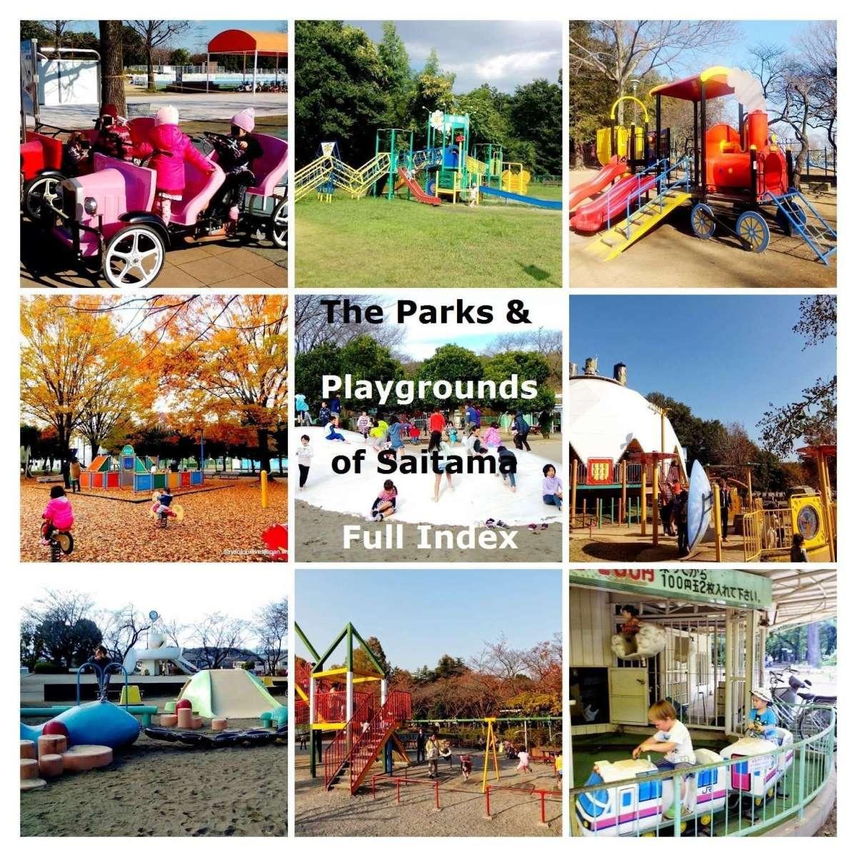 The Parks and Playgrounds of Saitama