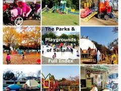 the parks and playgrounds of saitama