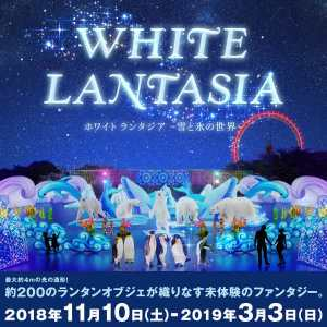 White Lantasia Night Illumination Seibu 2018