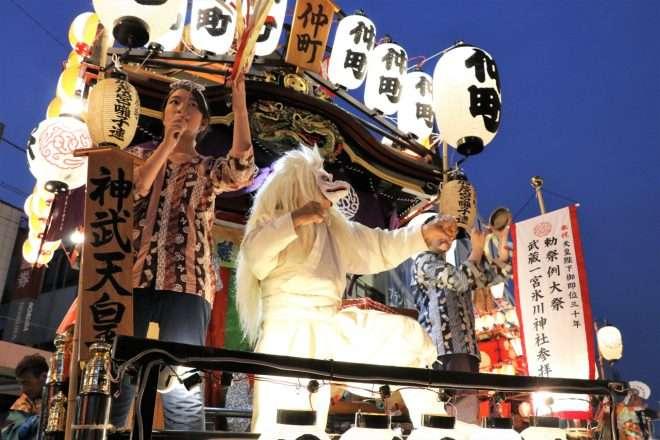 omiya nakasendo festival