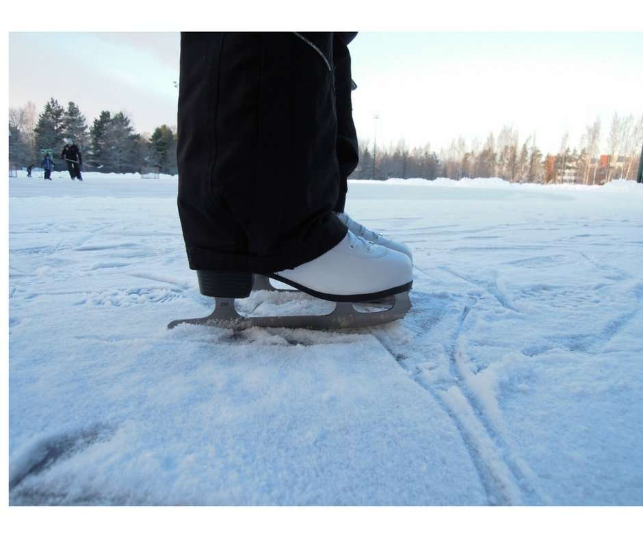 Natural Outdoor ice rink