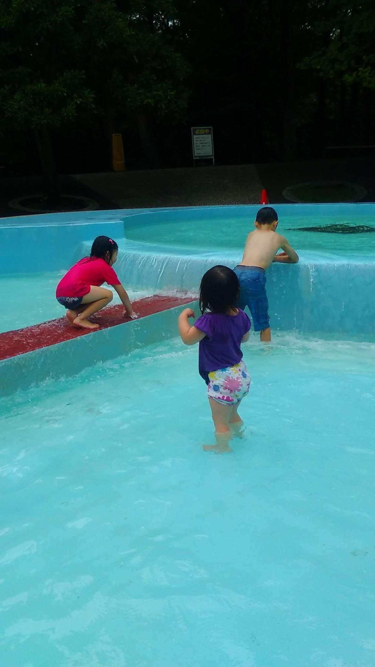 water play shinrin park