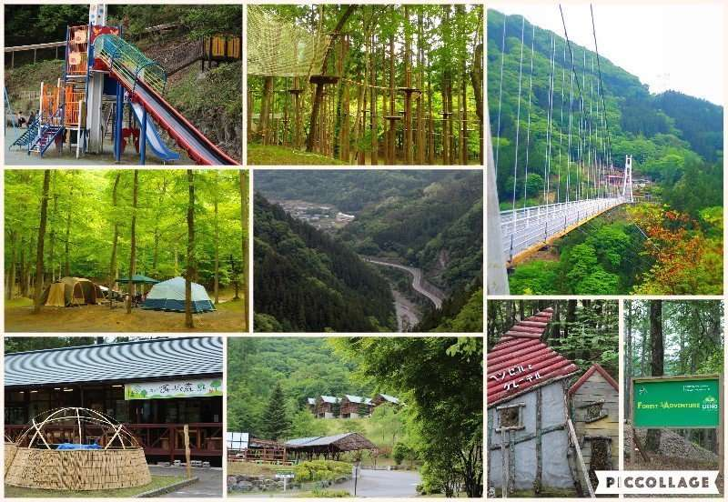 Forest adventure Ueno and Mahoba No Mori | GUNMA