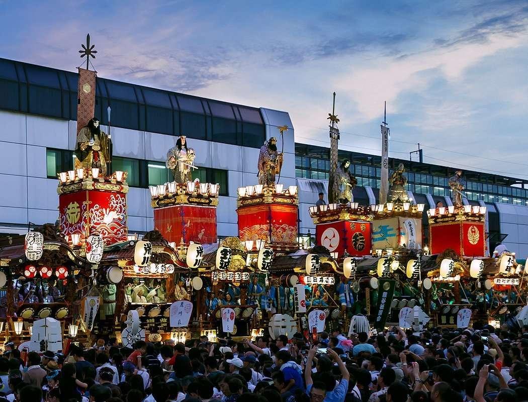 Kumagaya Uchiwa festival