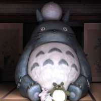 Visiting Totoro at the house of Kurosuke | TOKOROZAWA
