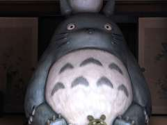 Totoro at Kurosuke House in Sayama hills tokorozawa