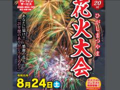 Higashimatsuyama Fireworks