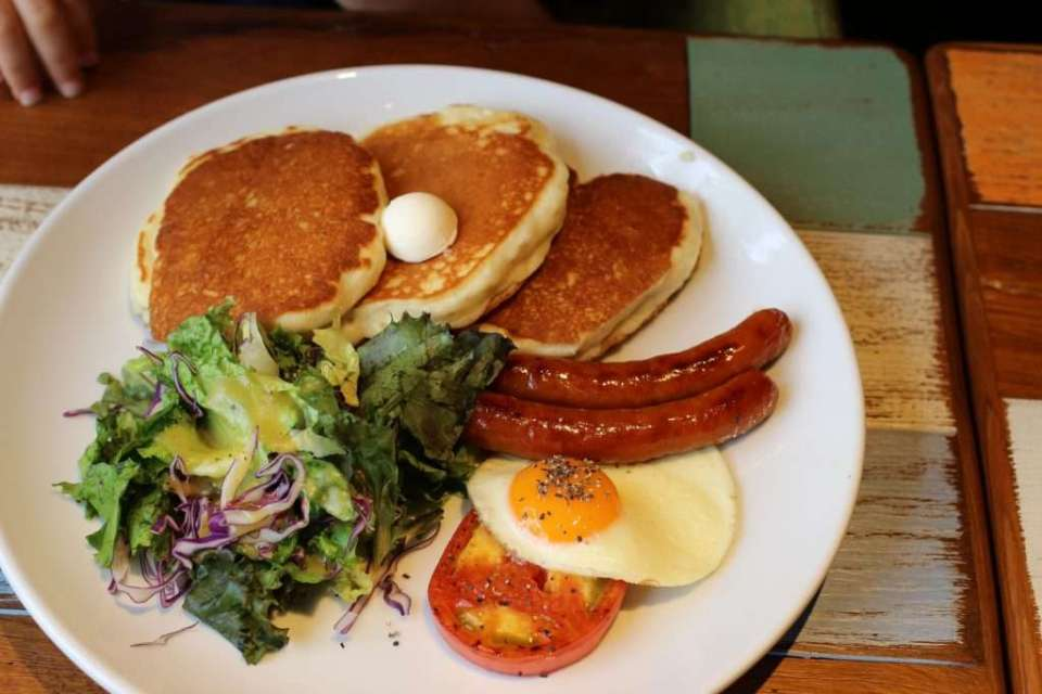 Kona's Coffee Pancake Tuesday