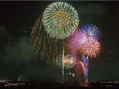 Misato Summer Festival Fireworks
