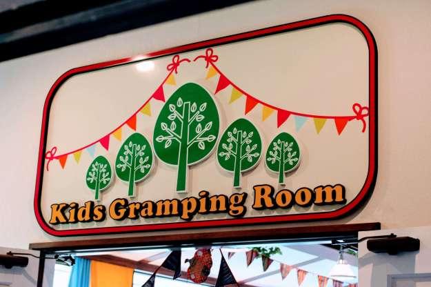 Kids glamping room engrish garden cafe hotel shiunkaku