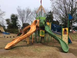 Great playground in Beppunuma Park| KUMAGAYA