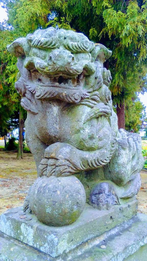 Lion dog shishi Komainu