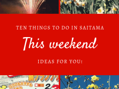 This weekend in Saitama