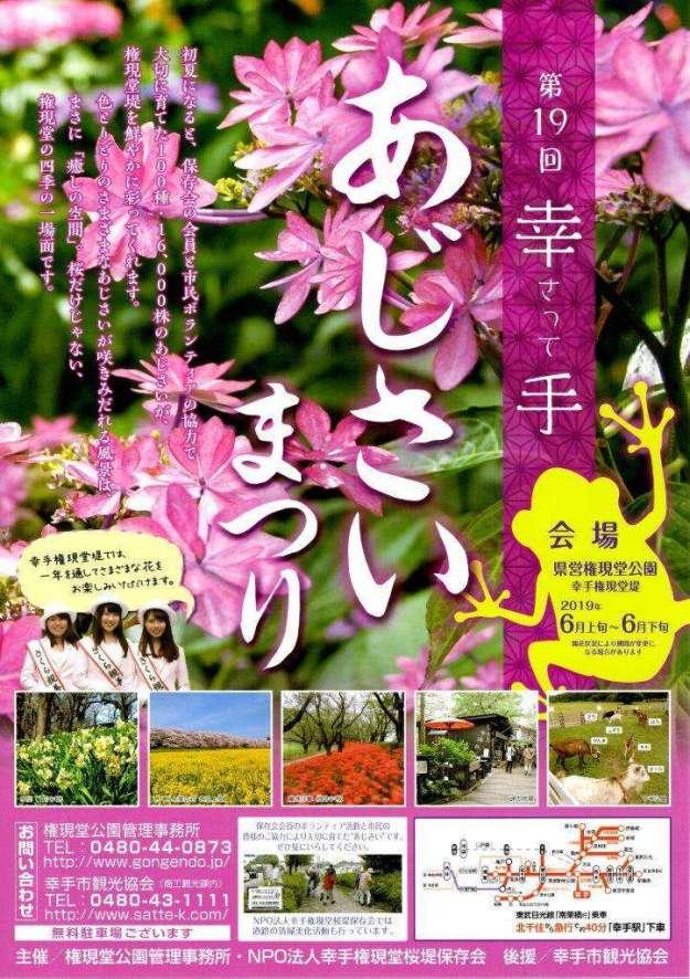 Hydrangea festival ajisai satte saitama