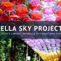 Updated: Umbrella Sky Project 2020 Saitama Japan