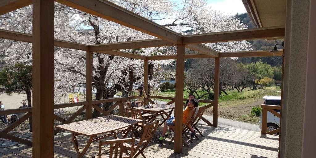 Cafe Mozart Ogawa terrace