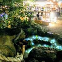 Kawagoe Hikawa Shrine by night
