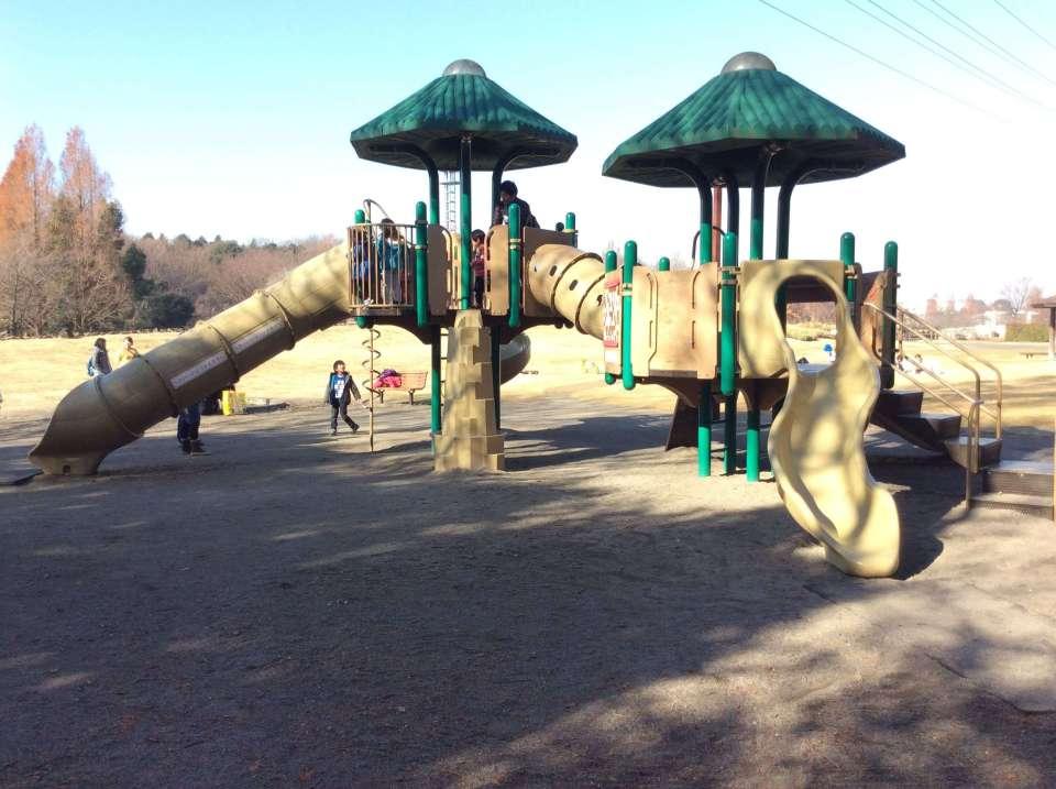 Playground at Omiya Oka No Hana Park
