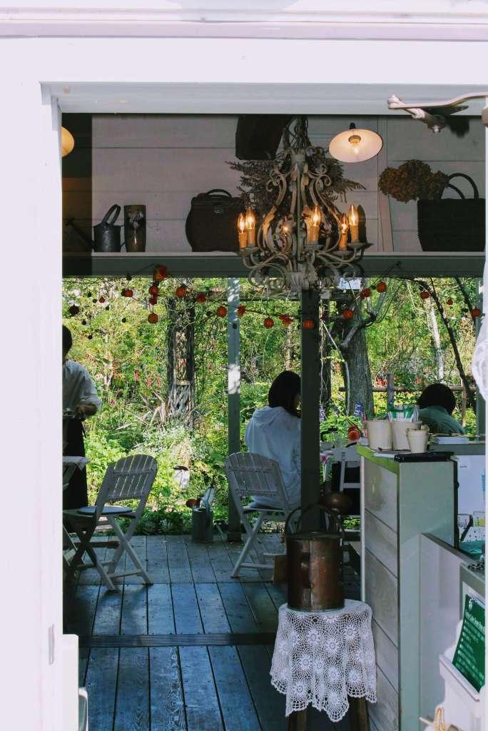 garden cafe greenrose moroyama