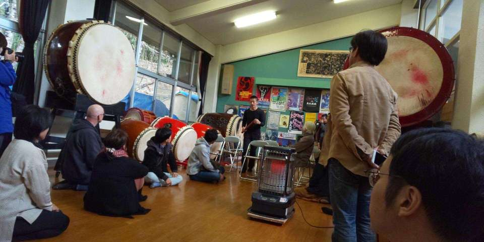 An experience of a lifetime:  taiko with Ondekoza