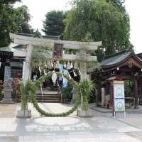 Chinowa Kuguri 2020 at Kawagoe Hachimangu