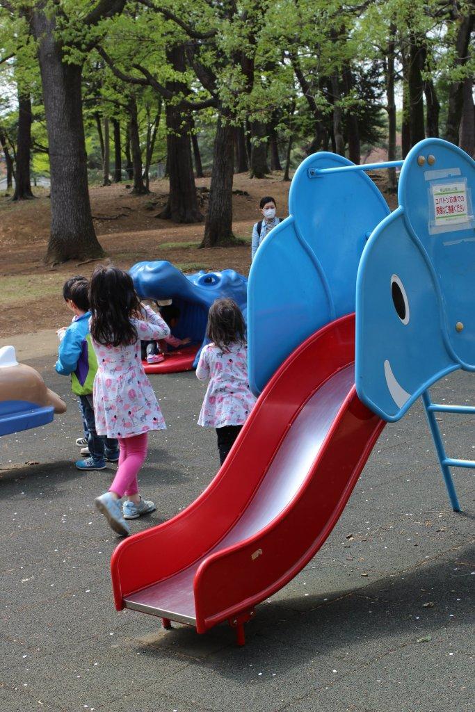 Playground at Sayama Inariyama Prefecture Park