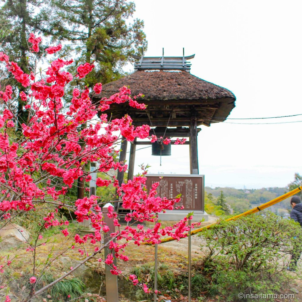 Bell tower at Iwadono kannon