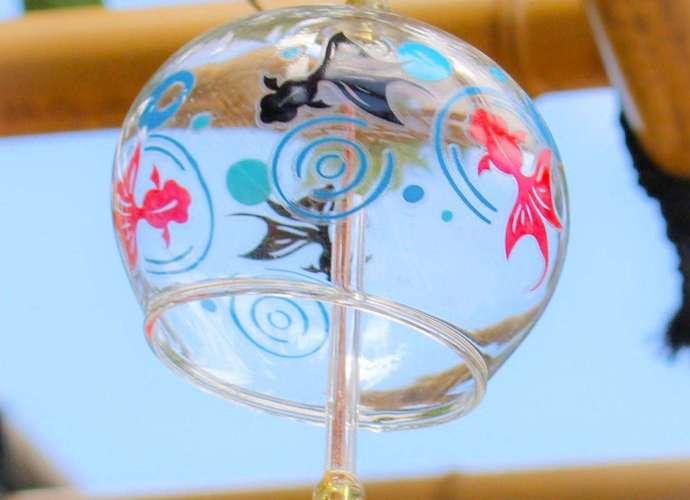 Wind chimes at Saimyouji Temple in Kawagoe May 2021 and summer events 2021