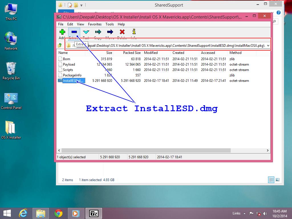 7 zip extractor for mac os x