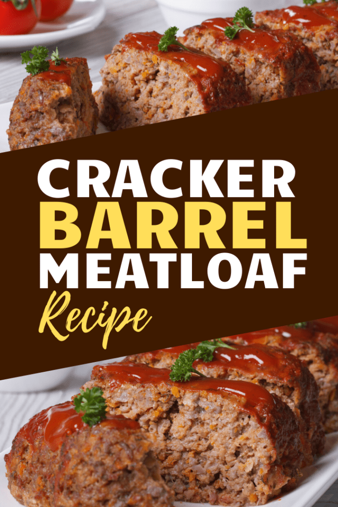 2 Lb Meatloaf Recipe With Crackers : meatloaf, recipe, crackers, Cracker, Barrel, Meatloaf, Recipe, Insanely