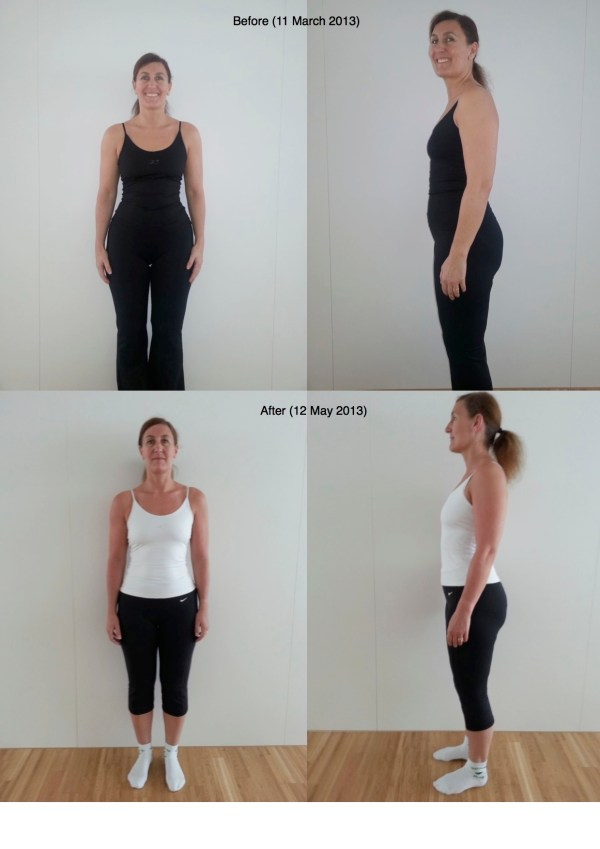 Insanity Results Week 1 - Year of Clean Water
