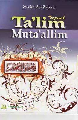 Cover Download Terjemah Talim Mutaallim pdf