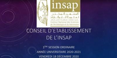 conseil etabli insap 1er session 2020-2021 18-12-2020