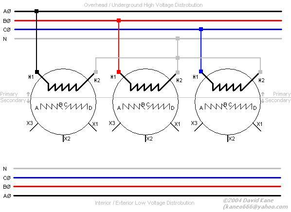 3 phase autotransformer wiring diagram 2000 chevy blazer trailer transformer connections here s the for a primary delta configuration will use line system voltage 12470v on 7200 click to enlarge