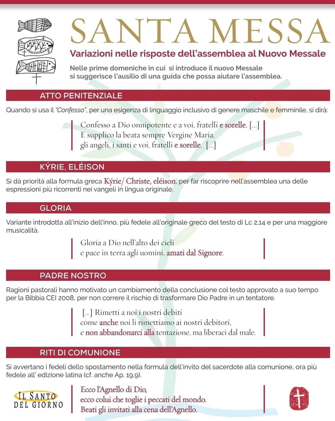 nuovo messale