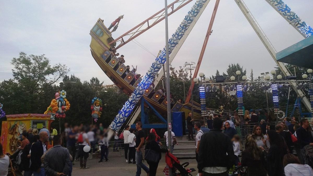 giostra luna park