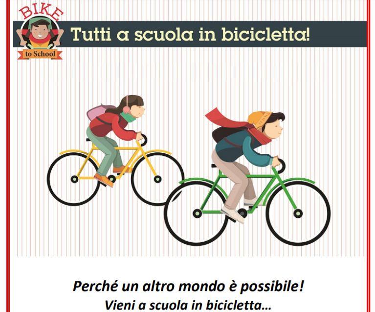 Bike to school bicicletta