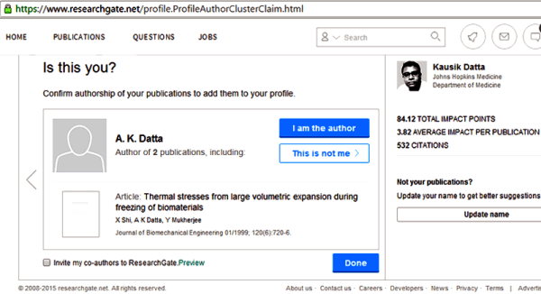 researchgate citation issue