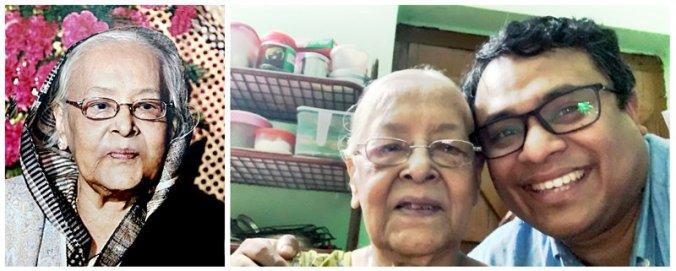 Uma Chaudhury (née Dasgupta), my late grandmother
